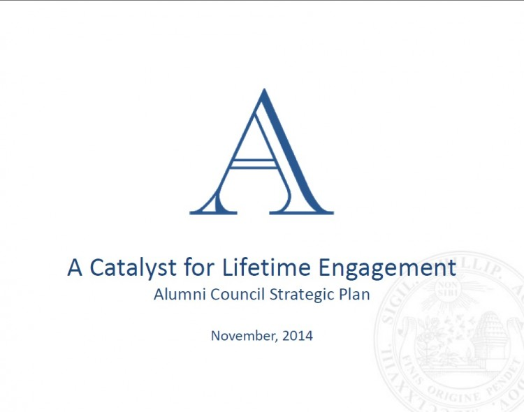 Alumni Council adopts a new strategic plan
